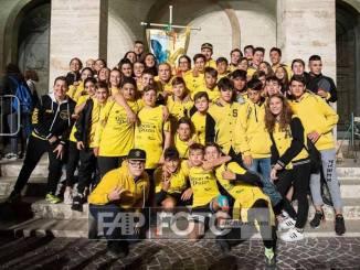 Sant'Angelo fa tris! Il Mini Palio 2019 si tinge ancora di giallo