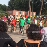 Sbiciclettata de San Michele, 9 chilometri portando i colori dei Rioni
