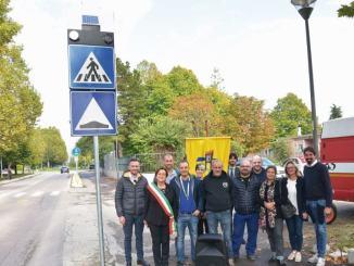 Amministrazione Comunale ringrazia per donazione di due impianti luminosi a led