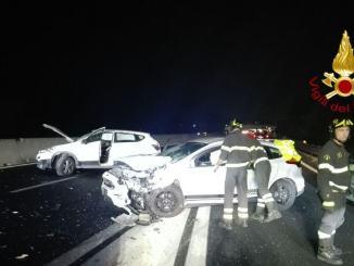 Tre persone coinvolte in incidente stradale ad Ospedalicchio di Bastia Umbra