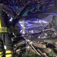 Incidente stradale sulla strada dell'aeroporto, madre e due figli in ospedale