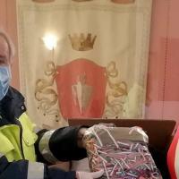 Monache benedettine e aziende private mascherine alla popolazione, grande cuore di Bastia