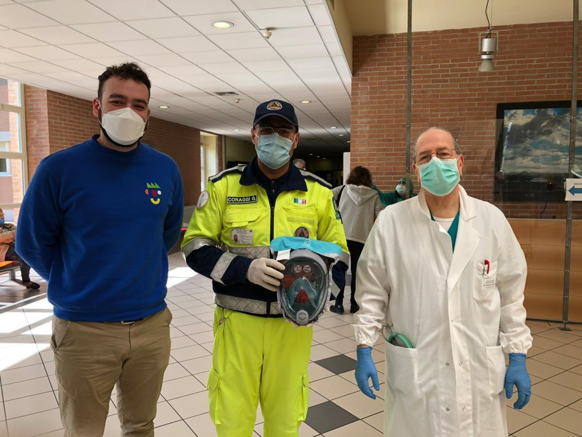 Consegnati i primi kit all'Ospedale San Giovanni Battista di Foligno