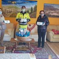Il Giunco ricambia sempre la solidarietà, mascherine al Comune di Bastia Umbra