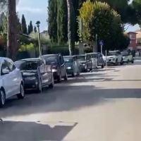 Tamponi Polo Giontella drive-trough saranno spostati a Umbriafiere