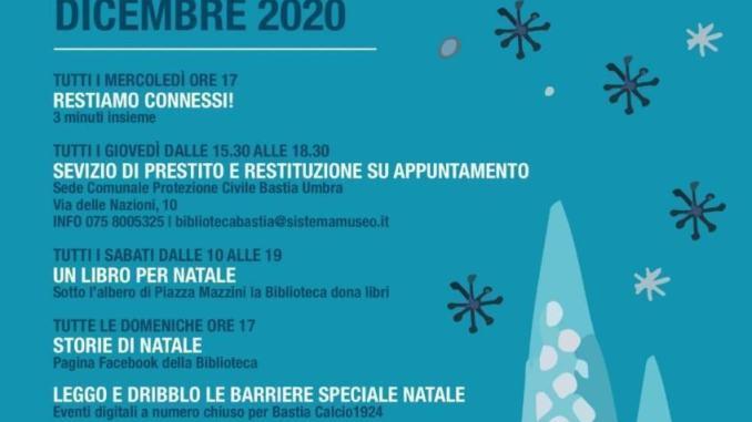 A Natale accendiamo la Biblioteca. Bastia Umbra Dicembre 2020