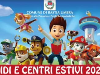 Oggi a Bastia Umbra sono iniziati i centri estivi comunali 2021