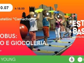 Bastia, sabato 10 luglio ai giardini pubblici Circobus: Circo e Giocoleria
