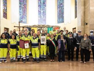 Conferito il premio San Michele d'Oro edizione 2021 ai Volontari del Gruppo Comunale Protezione Civile di Bastia Umbra