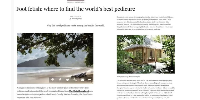 VOGUE AUSTRALIA - THE DATAI LANGKAWI