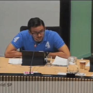 Osse gemeentebestuur schrapt stoepkrijtverbod na oproep SP