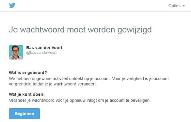 blokkade twitter