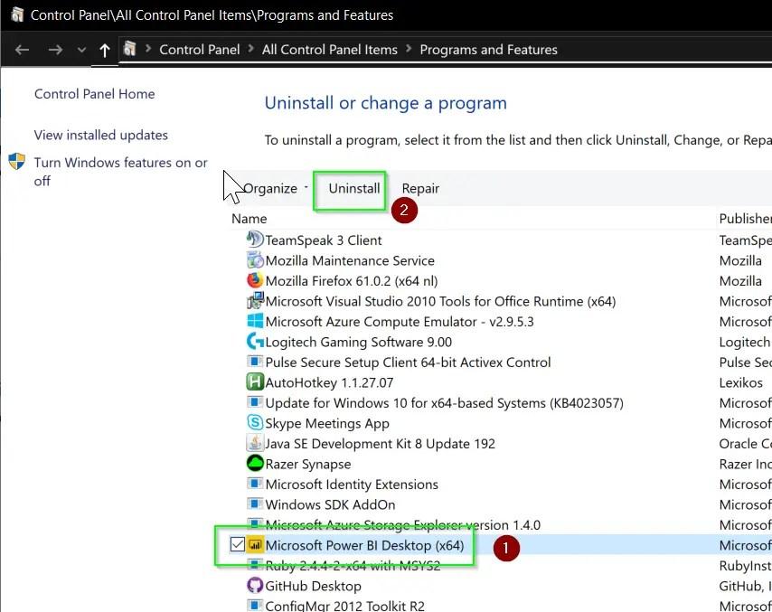FIX: Power BI Desktop Unable to open document - Install latest version