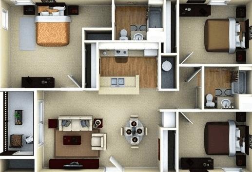 Denah-Rumah-Sederhana-tapi-Mewah-kediri