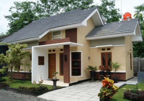 model rumah sederhana tapi indah milik orang kaya raya