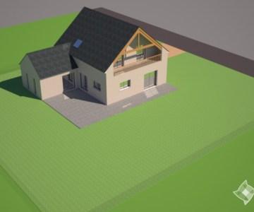 Construction maison, Damgan (56) - Bat Aménagement