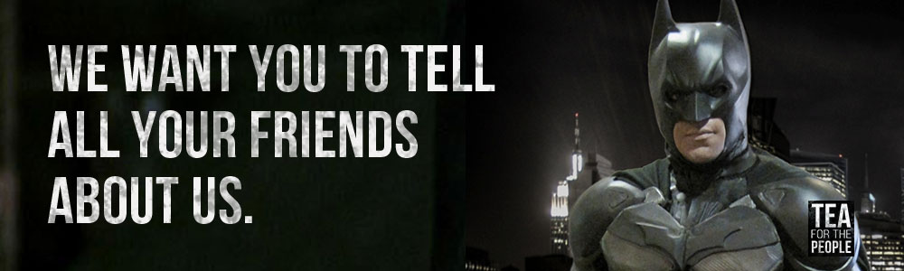We want you to tell all your friends about us header image