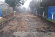 Bateman Groundworks working at Abel Homes Watton