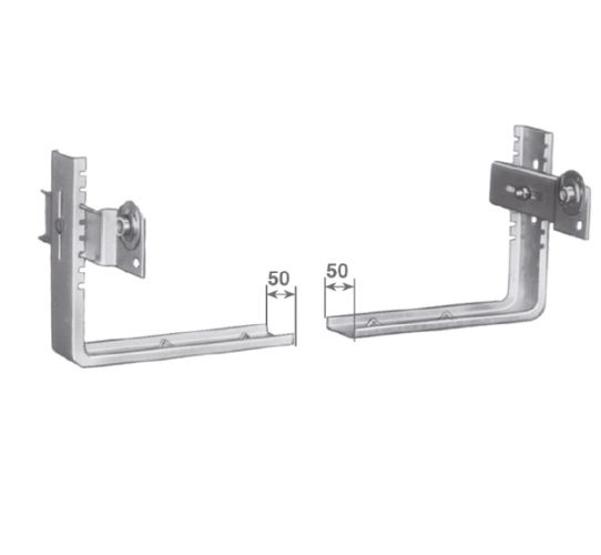 SUPPTC shelf kit/frame-pair bracket