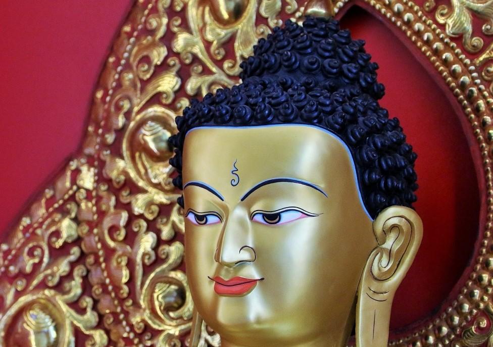 Buddha statue -face
