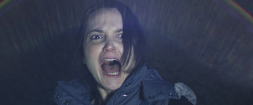 woman watching Vampire Dawn at the Bath Fringe Festival