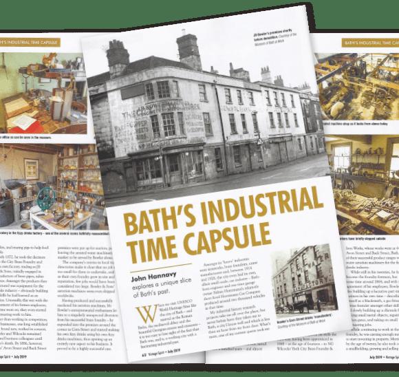 """Bath's Industrial Time Capsule"""