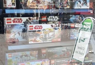 Hawkin's Bazaar Bath Now Sells Lego