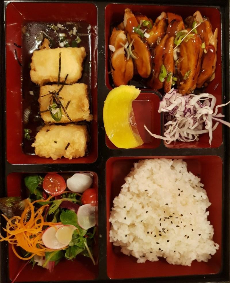 Chicken Teriyaki Bento Box