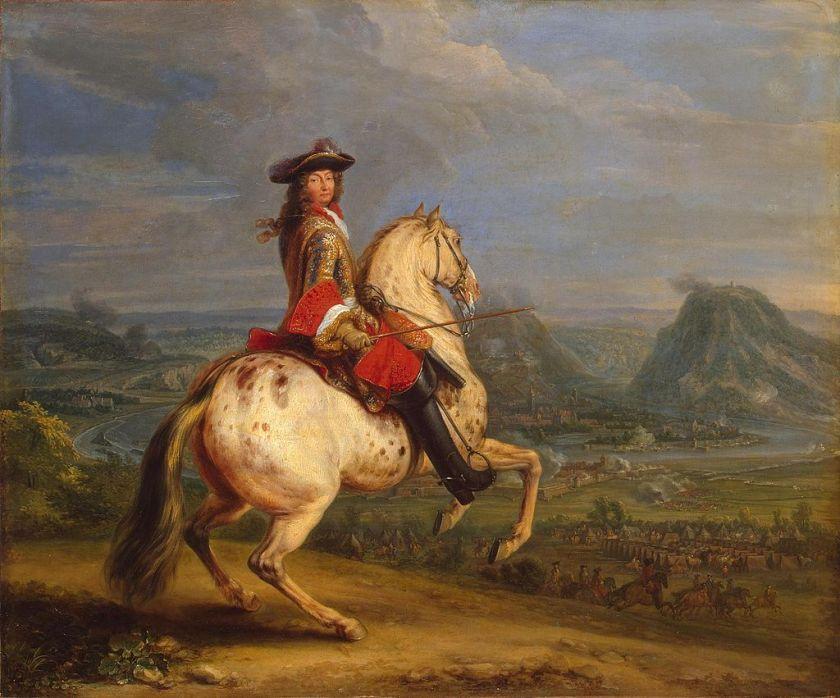 Adam Frans van der Meulen לואי ה14 - איזה חתיך הורס המלך הזה.