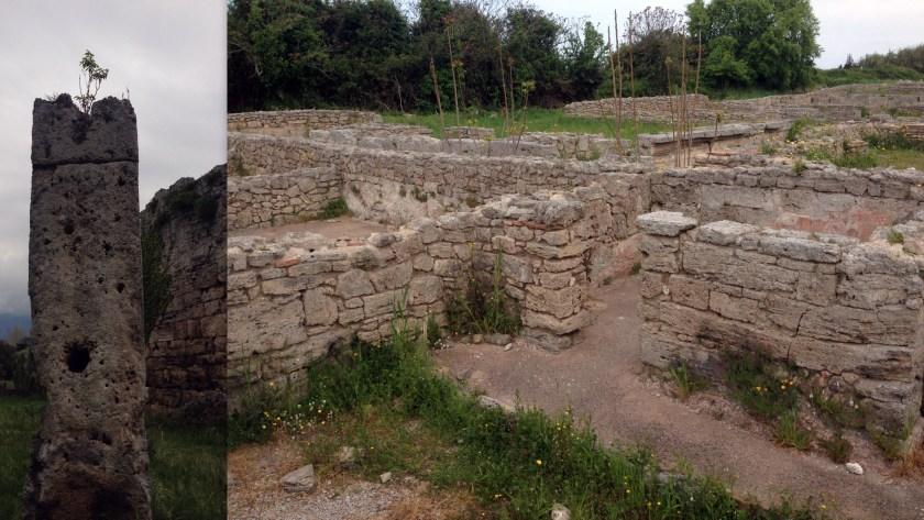 כיבוש רומא - אילנתה בלוטית רוכבת על חורבות העבר.