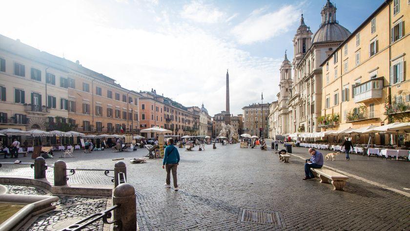 גם ברניני עשה טעויות - כיכר נאבונה ברומא