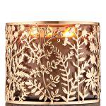 Gold Botanical 3 Wick Candle Holder Bath Body Works