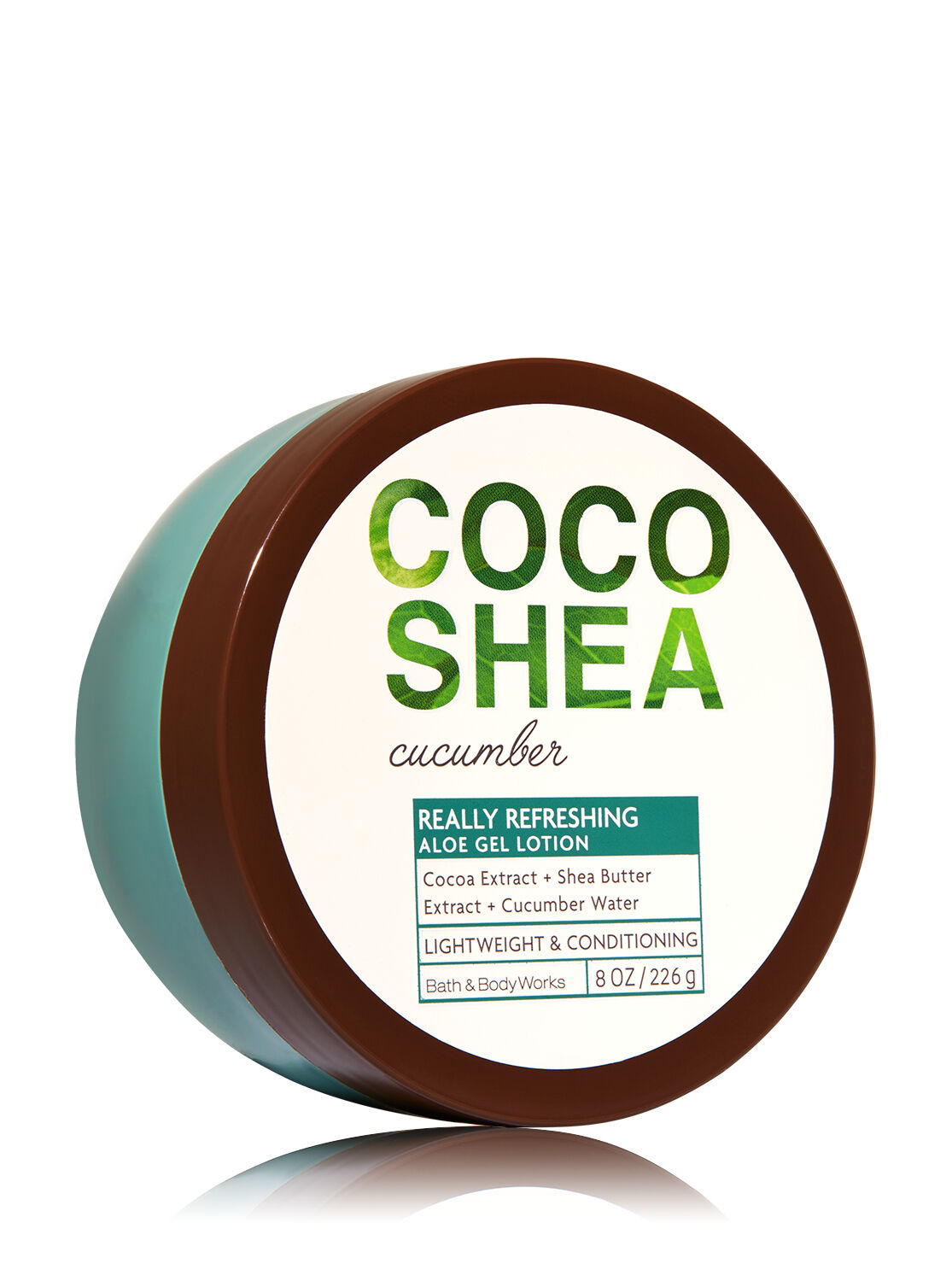 Signature Collection CocoShea Cucumber Aloe Gel Lotion - Bath And Body Works