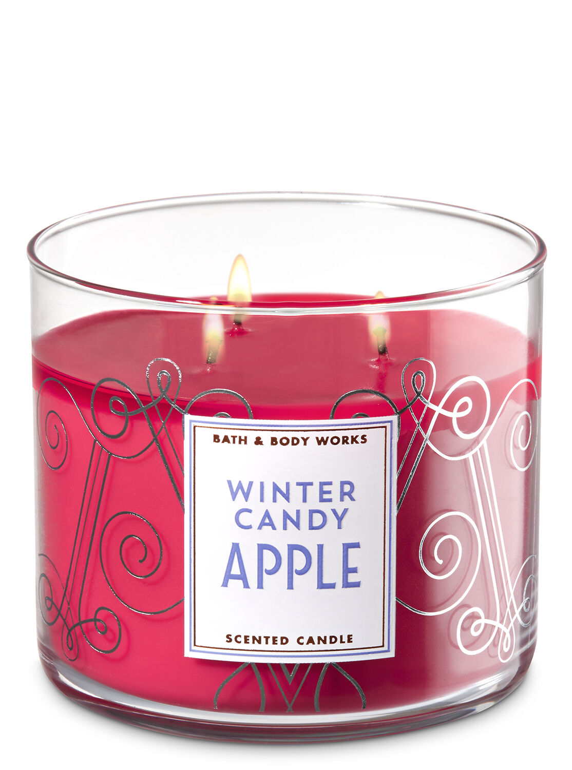 Winter Candy Apple 3-Wick Candle - Bath And Body Works