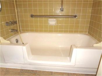 Bath Crest Of Colorado Bathtub Cutout Conversion To A Walk In Shower With Tub Door