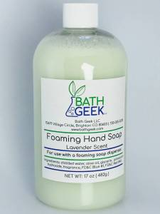 Lavender Foaming Hand Soap