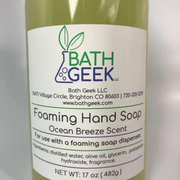 Ocean Breeze Foaming Liquid Soap