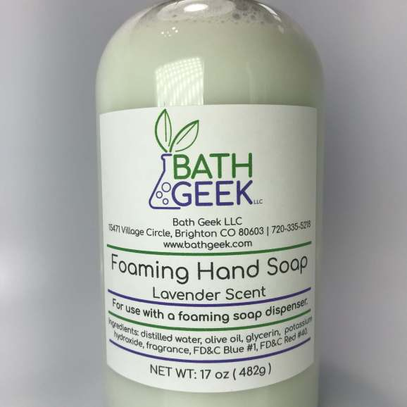 Lavender Foaming Soap