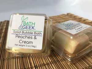 Peaches & Cream Bubble Bath - Box View