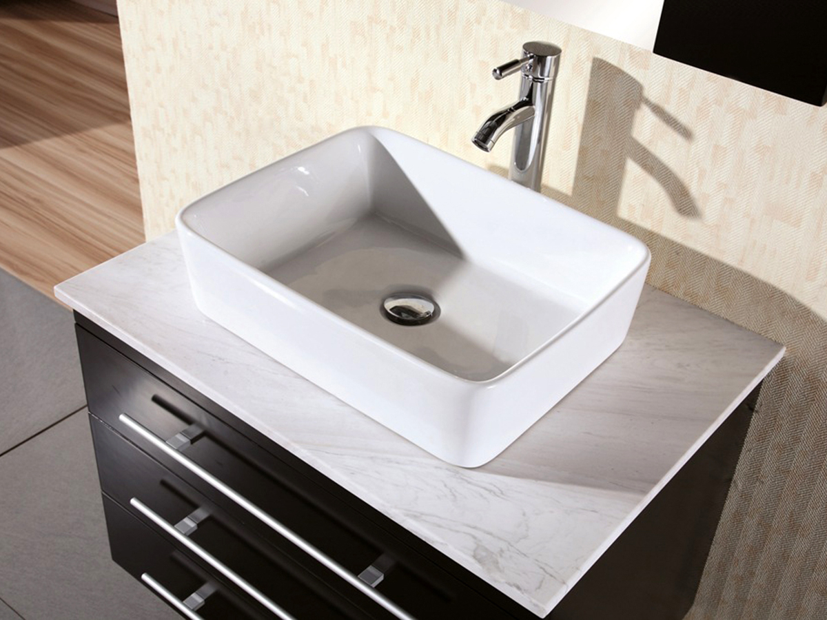 30 Portland Vessel Sink Vanity Espresso