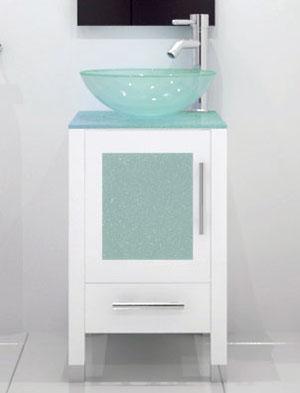 17 75 soft focus single vessel sink vanity glass white bathgems com