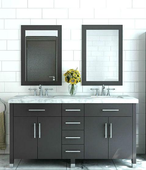 modern bathroom vanities and cabinets - bathgems