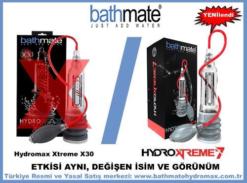 Hydromax Xtreme X30 adı Hydroxtreme 7 oldu.
