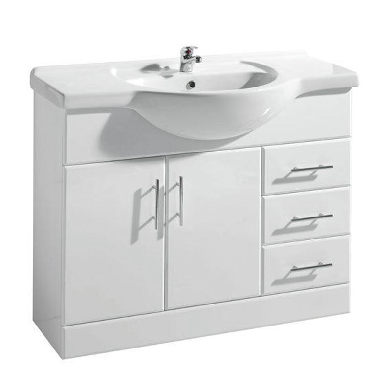 new ecco 1050mm vanity unit with basin