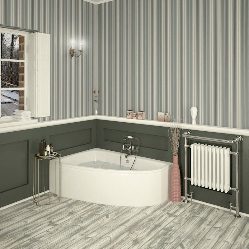 Clia Left Hand Offset Corner Bath Panel Buy Online At