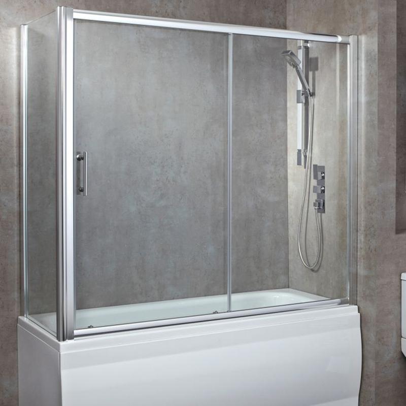 Luxury 1700 Over Bath Single Sliding Door Buy Online At