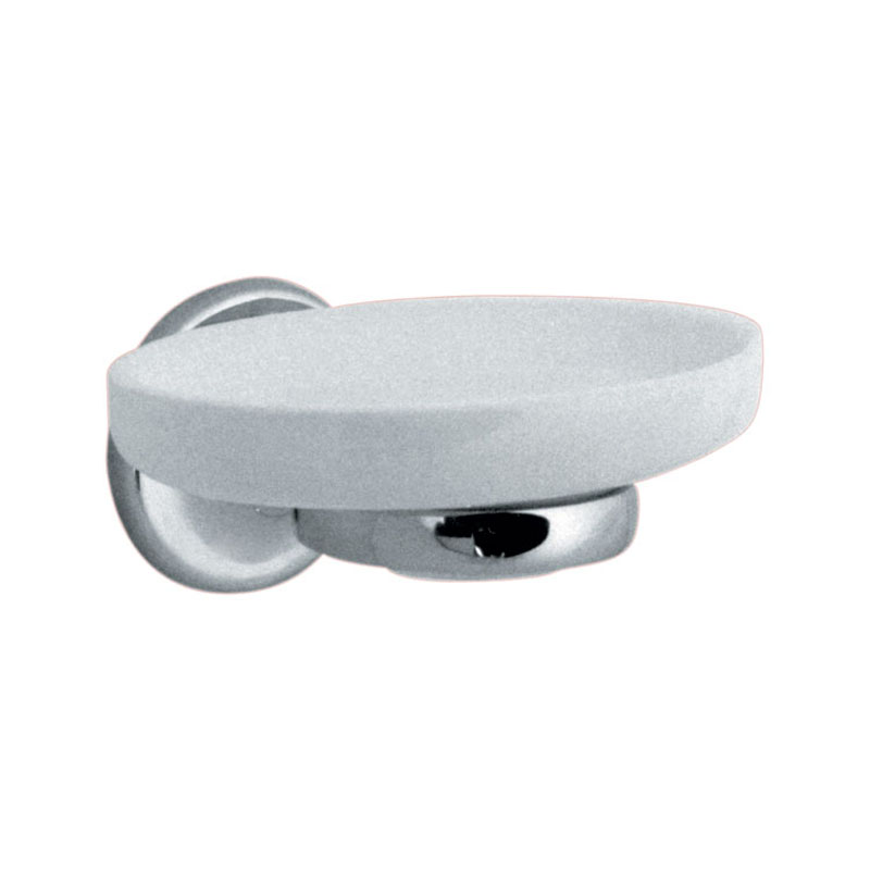 ceramic soap dish with holder wall mounted