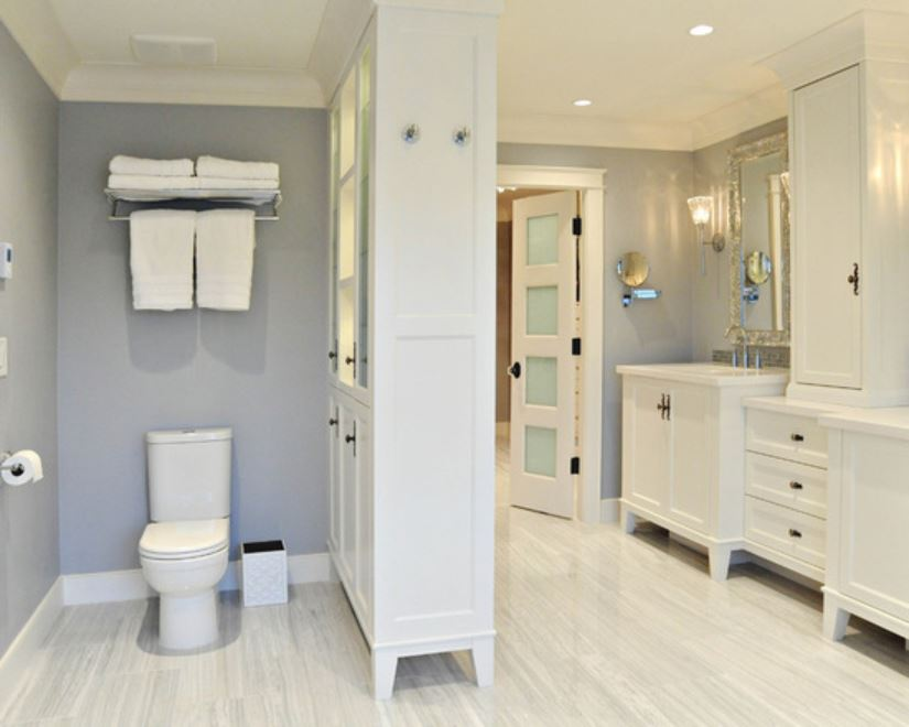 bathroom remodel cost low end mid