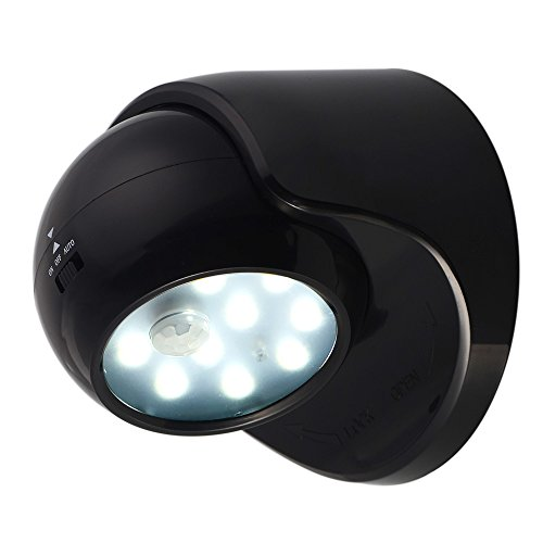 Innogear 174 Battery Powered Motion Sensor Light Detector