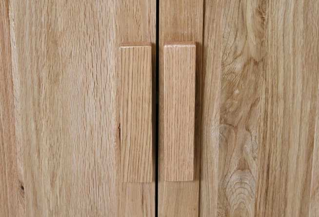 Oak Vanity Door Handle